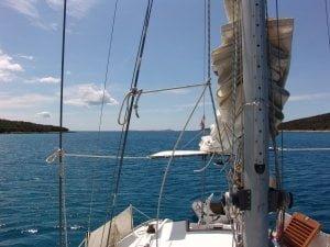 Unije - Vognisca bay anchorage