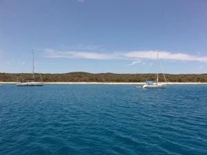Vognisca bay anchorage