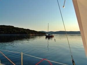 soline bay island iž croatia
