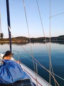 anchor soline bay island iž croatia