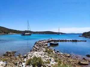 Island Molat Croatia, Podgrabe bay