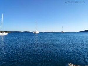 Island Molat, Podgrabe bay, Croatia