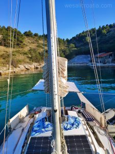 At the anchor - Rasohac bay