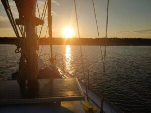 Island Olib - Sunset
