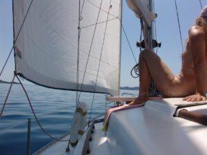naturist sailing