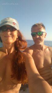 sailing nude