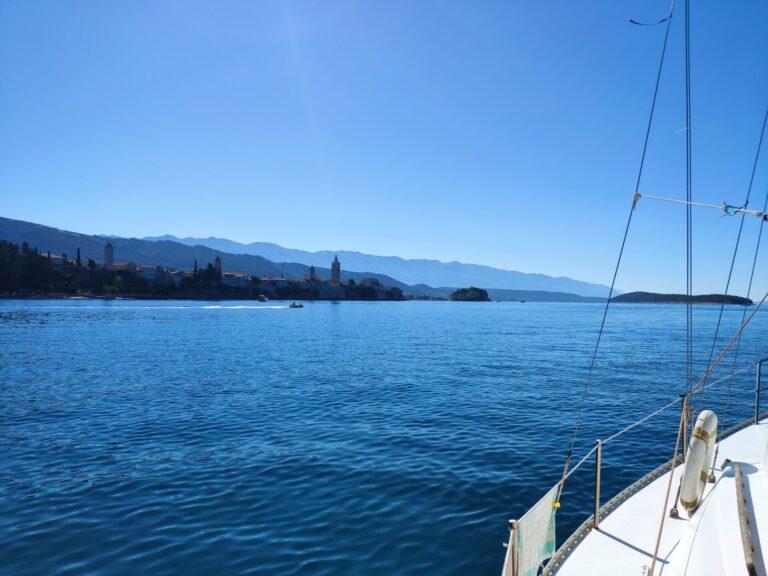 St. Fumija bay island Rab