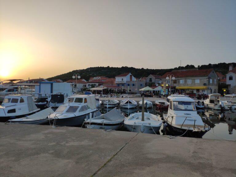 Sailing Croatian coast