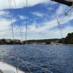sailing nude in Croatia